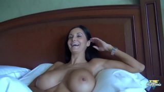 Ava Addams gets a huge cock in her asshole