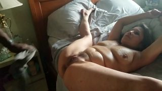Beautiful amateur mom take a BBC up her ass