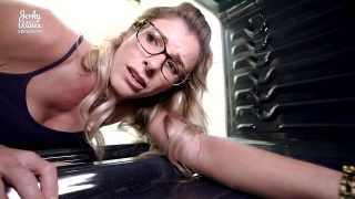 Cory Chase in Sexy MILF Fucked in the Asshole While Stuck in the Oven