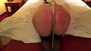 Hard Caning Mature Lady in Hotel Room