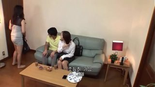 Korean Young Wife And Young Son In Law